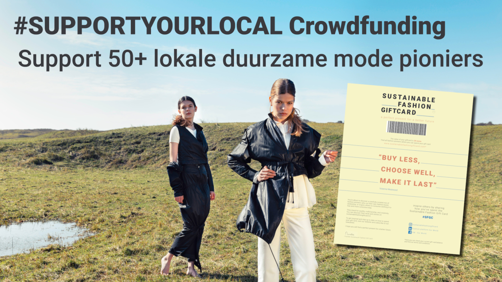 Sustainable Fashion Gift Card launches #SUPPORTYOURLOCAL